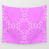 orchid Wall Tapestries featuring Orchid  by 2sweet4words Designs