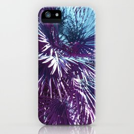 Lost in the wild - Tropical Palm leaves #tropicalart #buyart #Society6 iPhone Case