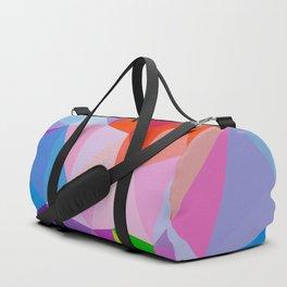 Geometric Abstract Art Pattern Eight Duffle Bag