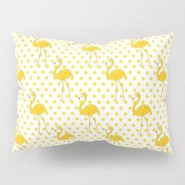 Yellow Flamingo  - Bird Pillow Sham