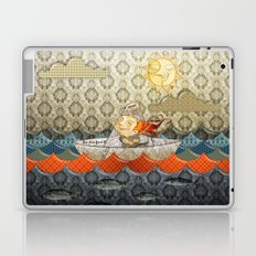 paper boat Laptop & iPad Skin