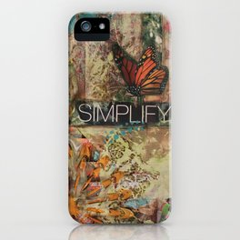 Simplify iPhone Case