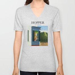 Hopper - Cape Cod Morning Unisex V-Neck