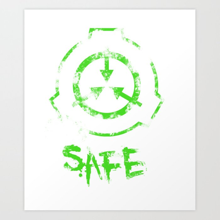 SCP foundation: Safe Art Print by rebellion10