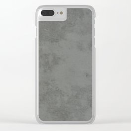 Concrete Cement Clear iPhone Case
