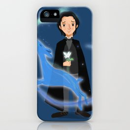 Severus Snape Hold Lily iPhone Case