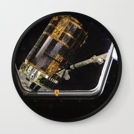 International Space Stations Canadarm2 grapples the unpiloted Japan Aerospace Exploration Agency (JA Wall Clock