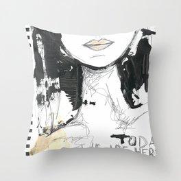 2014 Sketch Book Series #001 Throw Pillow