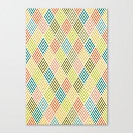 Citronique Series: Forêt Sorbet Canvas Print
