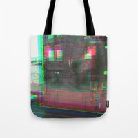 urban Tote Bags featuring Urban by Jane Lacey Smith