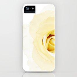Whtie Rose iPhone Case