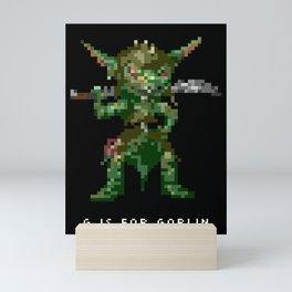 G is for Goblin Mini Art Print