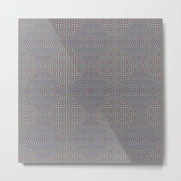 Fine Grain Quilt of Quilts Metal Print