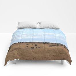 Landscape & Horses Comforters