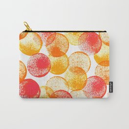 Saffron and Oranges Carry-All Pouch