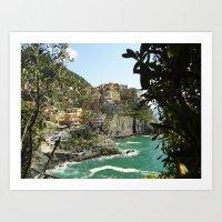 Cinque Terre Italy  Art Print