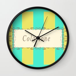Colazione Antique Wall Clock
