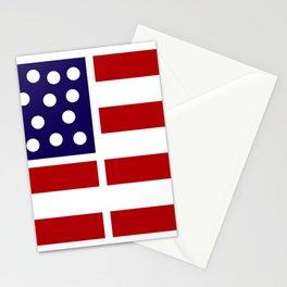 American design! USA flag #society6 #decor #buyart #artprint Stationery Cards