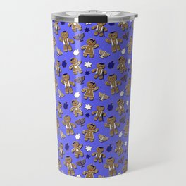 Hanukkah Gingerbread Travel Mug