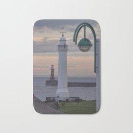 Seaburn and Roker Lighthouse. Bath Mat