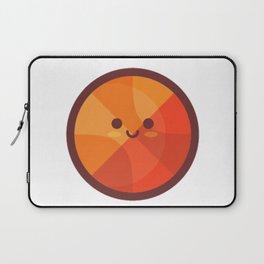 Cute Basketball Emoji Laptop Sleeve