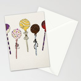 C is for Cake Pops Stationery Cards