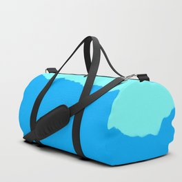 Minimal Mountain Range Outdoor Abstract Duffle Bag