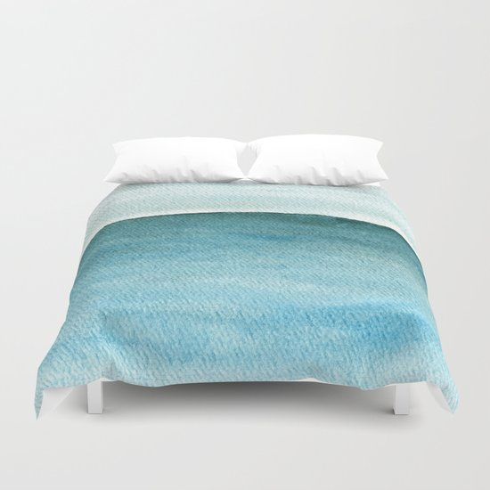 Calm sea 1985 Duvet Cover