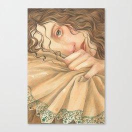 Jane Austen, Mansfield Park - Fanny Canvas Print