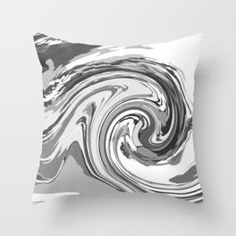 BLACK&WHITE MIX Throw Pillow