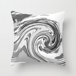BLACK&WHITE MIX Throw Pillow