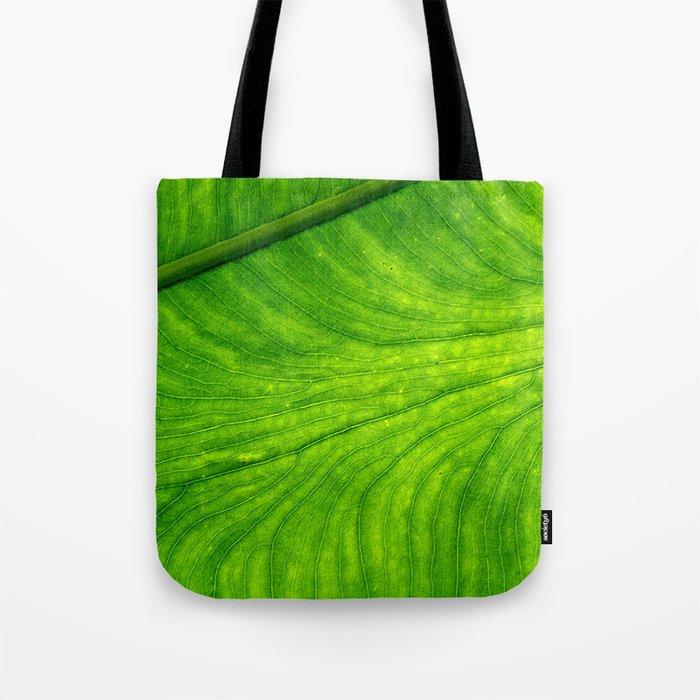 Leaf Paths Tote Bag