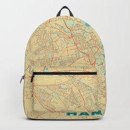 Hanover Map Retro Backpack