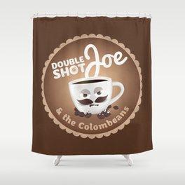 Doubleshot Joe Shower Curtain