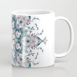 Kat Scratch • Digital Mandela • Dusty Purple & Blue Coffee Mug