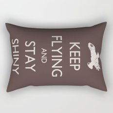 Keep Flying and Stay Shiny Rectangular Pillow
