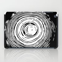 tree rings iPad Cases featuring Tree Rings by vogel