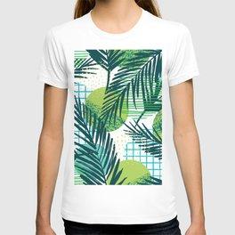 Colorful Tropical Palms I T-shirt