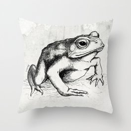 The Toad Throw Pillow