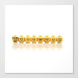 LEGO Yellow Heads Canvas Print