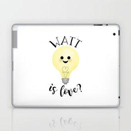 Watt Is Love? Laptop & iPad Skin