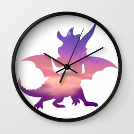 Spyro Lofty Castle Skybox Wall Clock