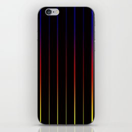 Verticle Color iPhone Skin