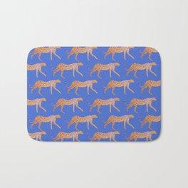 Leopard - Orange Bath Mat