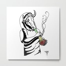 AniMusic (ANTILOPE *color) Metal Print