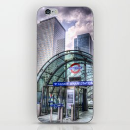 London Tube Station iPhone Skin