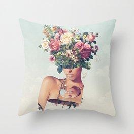 Flower-ism Throw Pillow