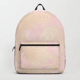 Modern Pink + Gold Backpack