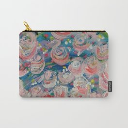 First Flowers Carry-All Pouch