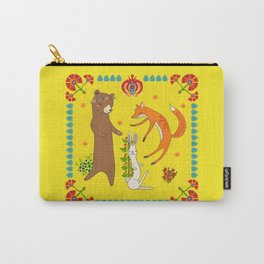 Forest Dance Party Carry-All Pouch